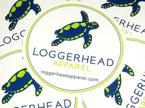 Loggerhead Apparel Sticker