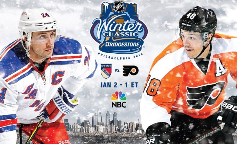 Ranger Vs Flyers Jan 2 @ 1pm