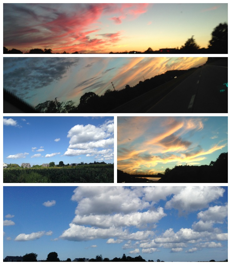 Hamptons Sky Collage