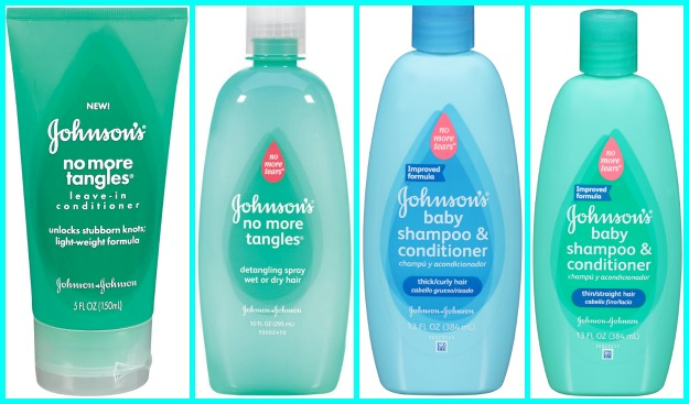 Johnsons No More Tangles Bottles Collage