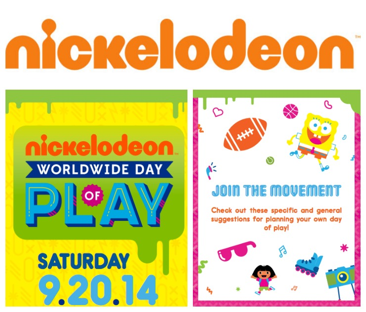 Nickelodeon Day of Play Collage