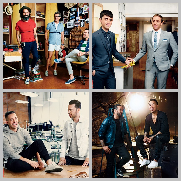 GQ Gap Designers 2014 Collage