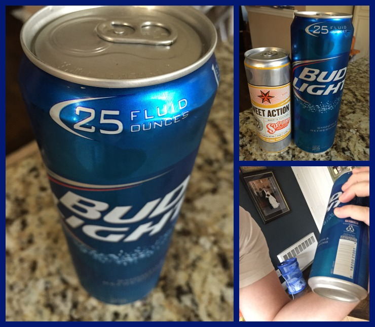 Bud Light 25oz Collage
