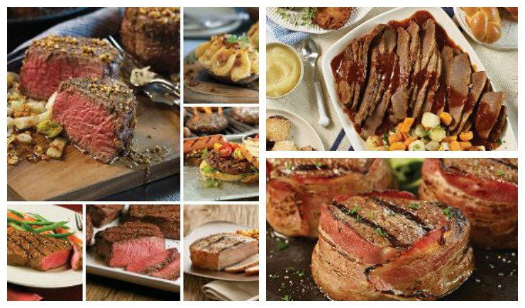 Omaha Steaks Combo Deals Collage