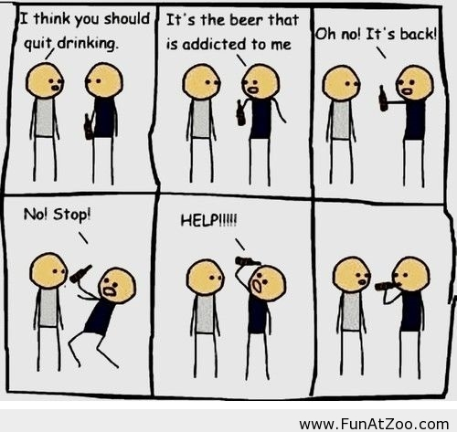 Beer-is-addicted-to-me