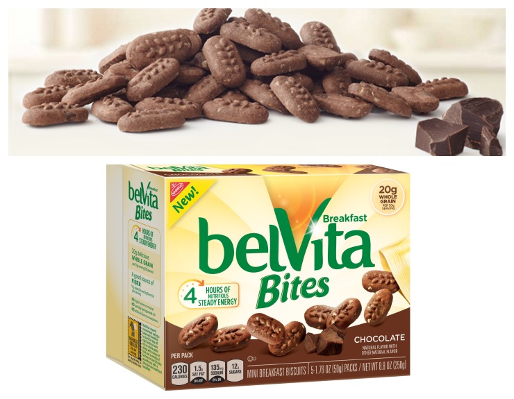 belVita Bites Chocolate Collage