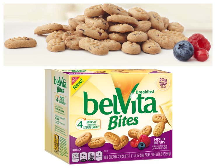 belVita Bites Mixed Berry Collage