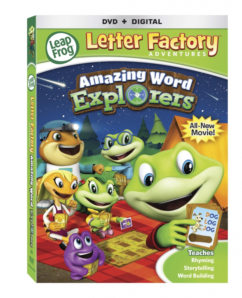 leapfrog letter factory dvd leapfrog letter factory adventures amazing word explorers 22719