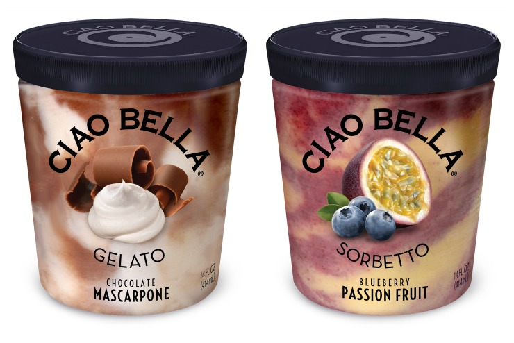 Ciao Bella Gelato and Sorbetto Collage