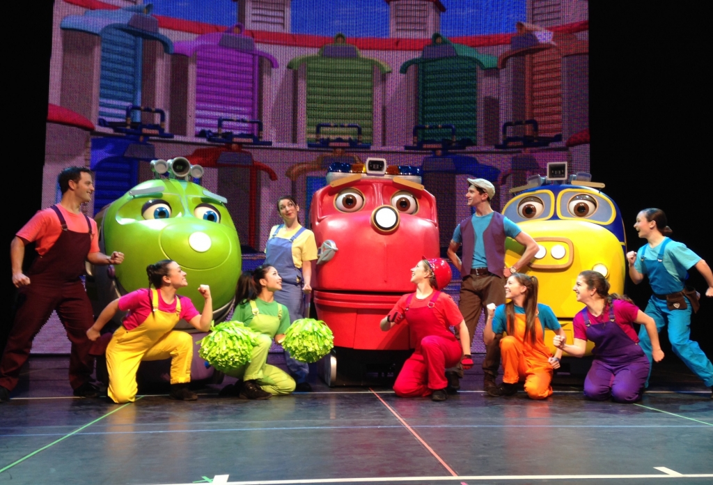 08 Chuggington Live Cast