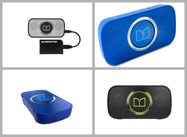 Monster SuperStar™ and SuperStar™ BackFloat™ Bluetooth Speakers Are
