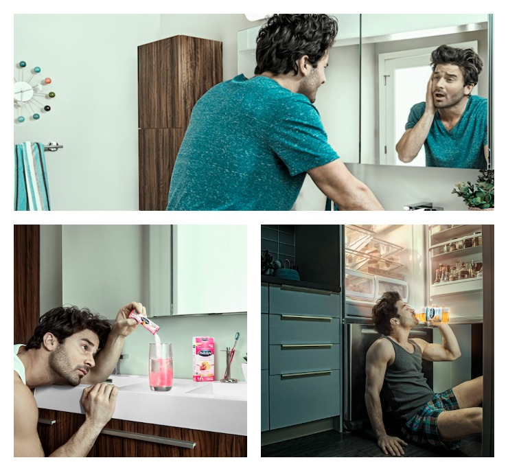 Pedialyte Guy Collage