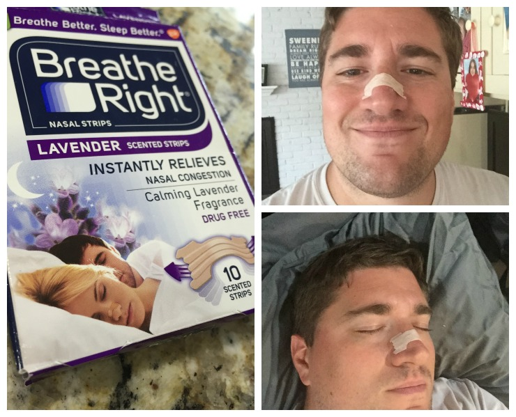 Breathe Right Strips #NightsRight Collage