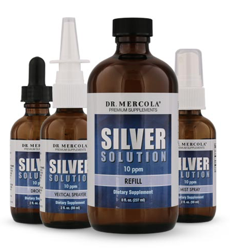 Dr. Mercola Silver Solution