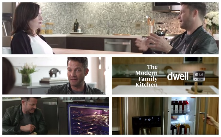 LG Studio Nate Berkus Video Collage