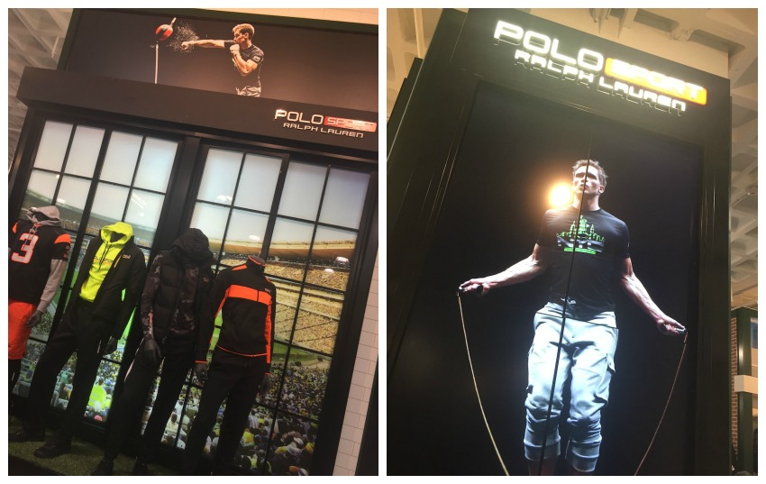 Dick's Polo Sport Store Collage
