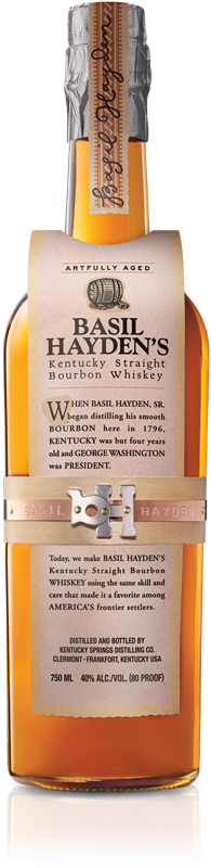 Basil Hayden's Bottle