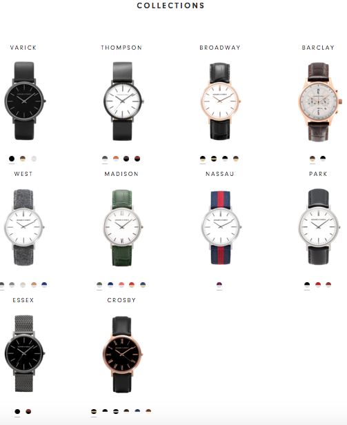 Leonard and Church Watch Collections