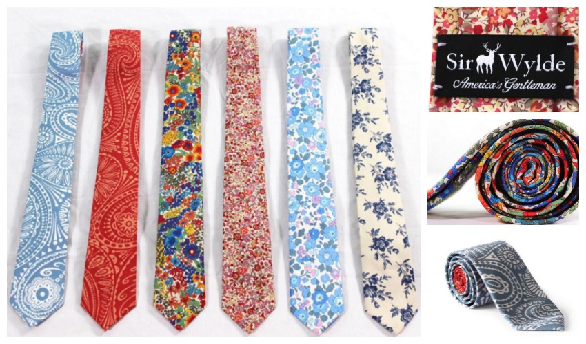 Sir Wylde Tie Collage