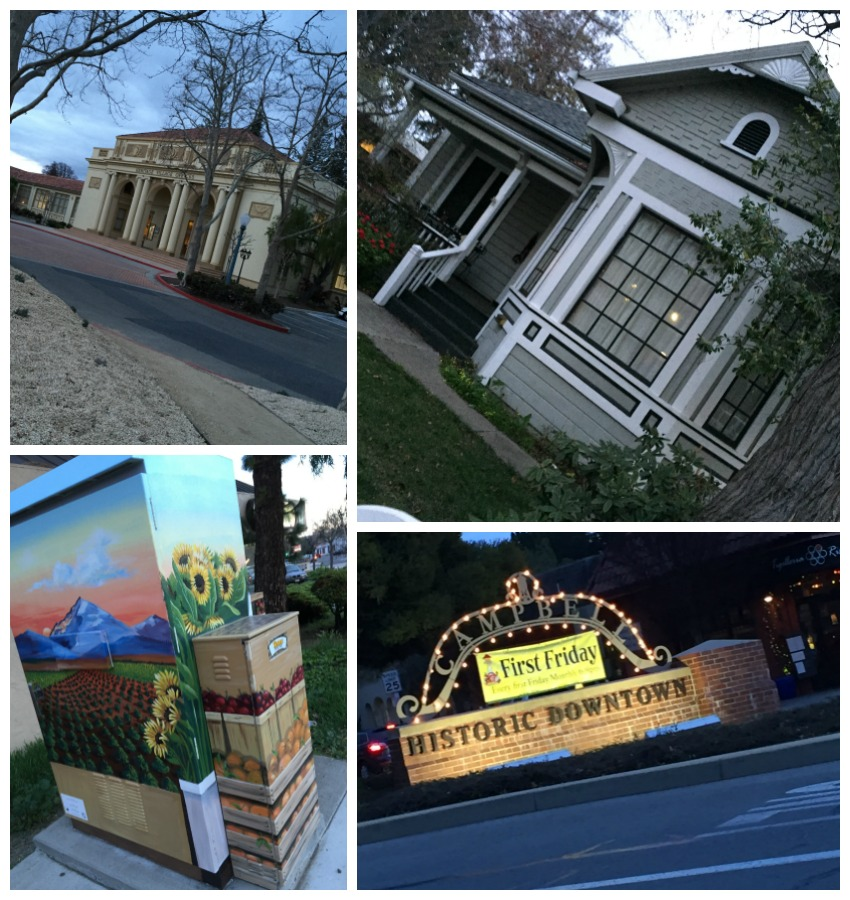 Campbell CA Collage