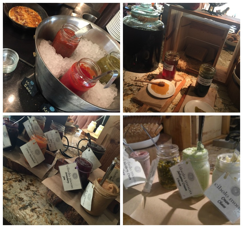 JW Marriott Hill Country Cibolo Moon Breakfast Collage