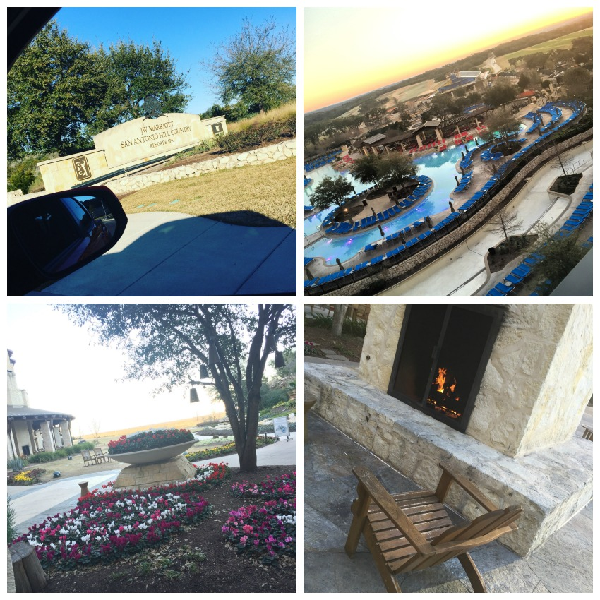 JW Marriott Hill Country Grounds Collage