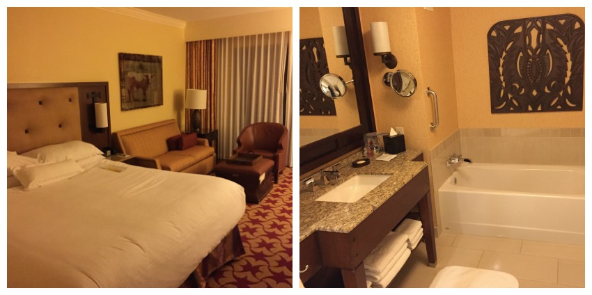JW Marriott Hill Country Hotel Room Collage