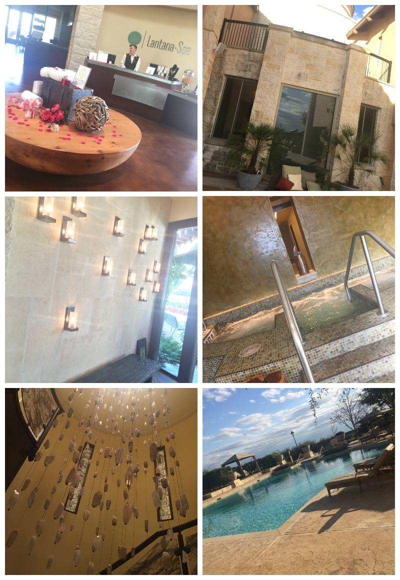 JW Marriott Hill Country Lantana Spa Collage