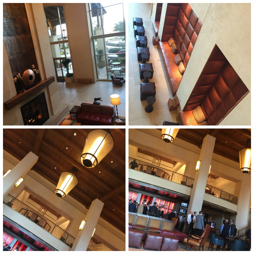 JW Marriott Hill Country Lobby Collage