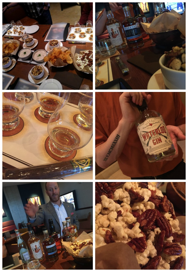 JW Marriott Whiskey Tasting Collage