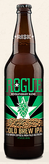 Rogue Cold Brew IPA bottle