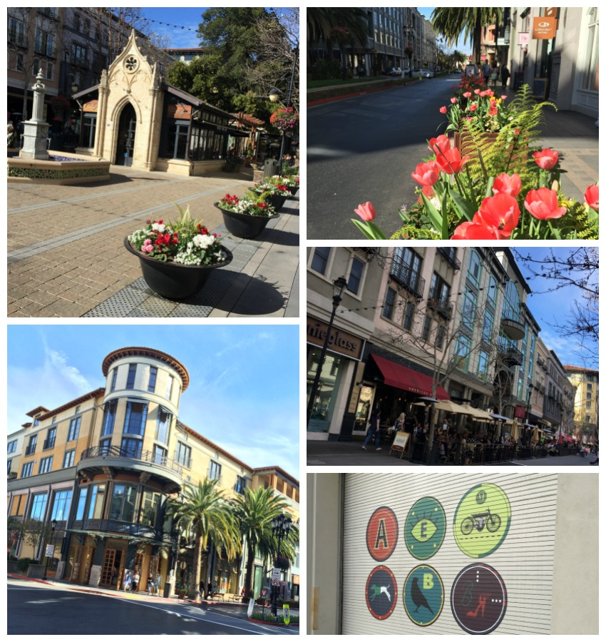 Santana Row Collage