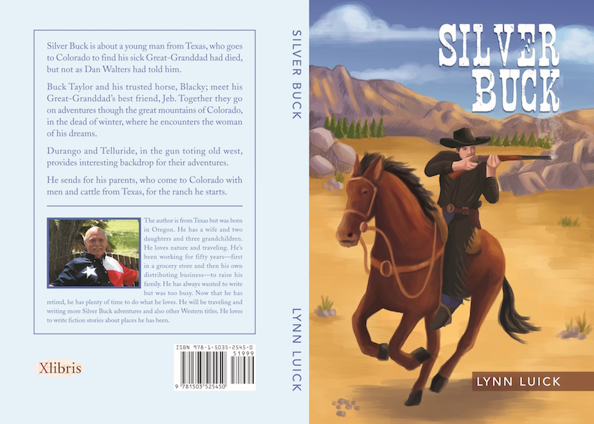 Silver Buck book cover