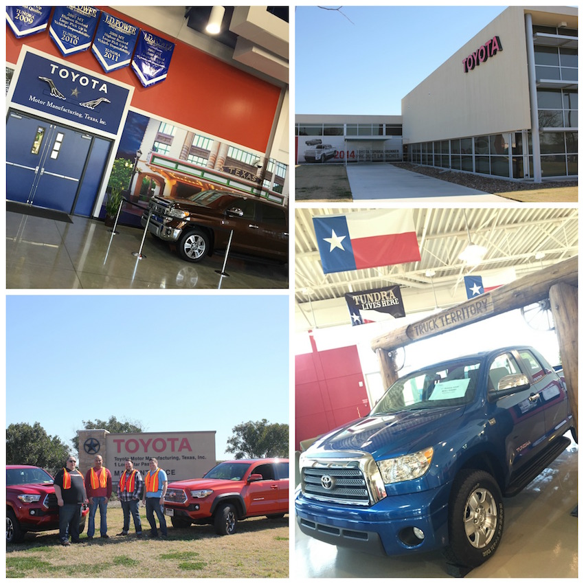Toyota Factory Collage