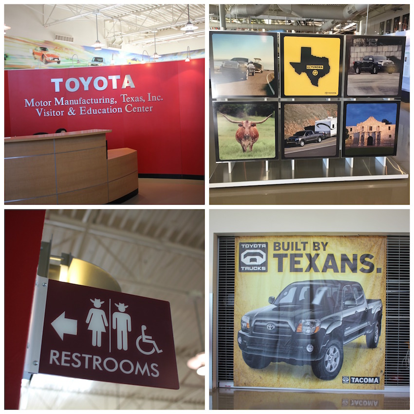Toyota Texas Collage