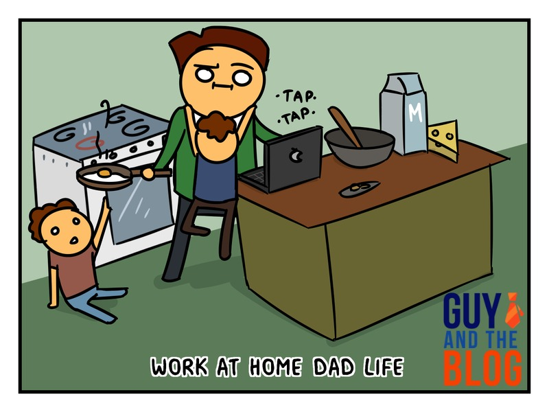 GAB - Fiverr - Work at Home Dad Life with Watermark