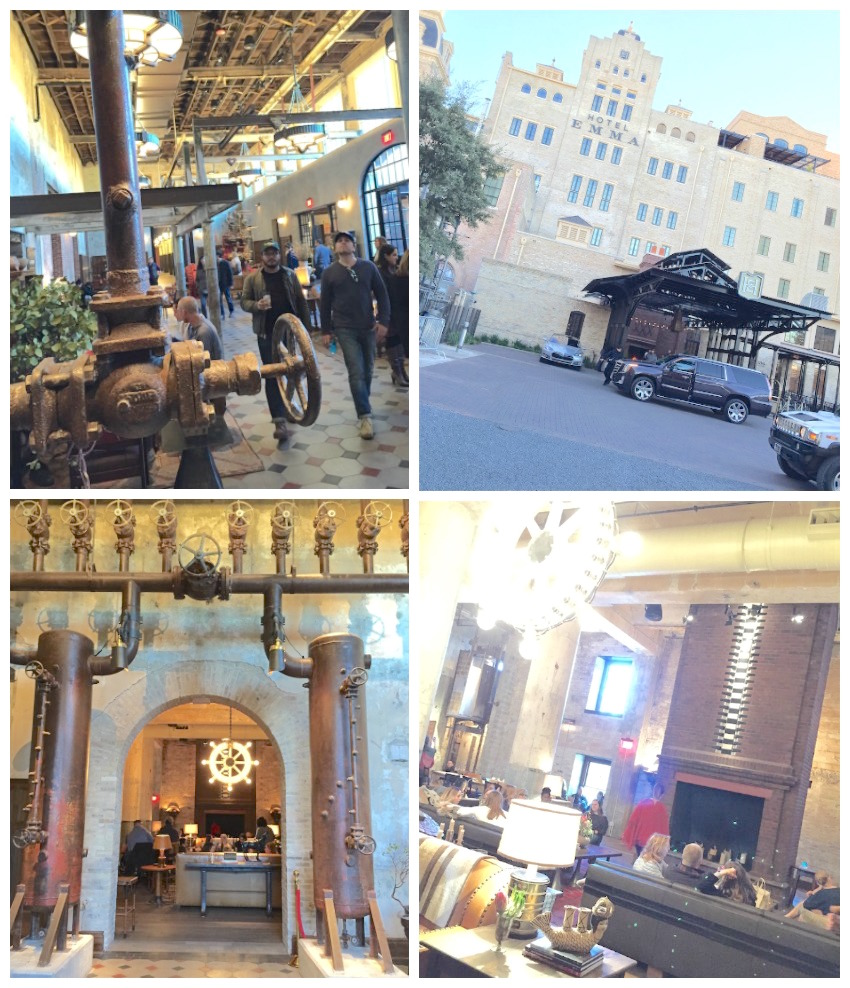 Hotel Emma San Antonio Collage