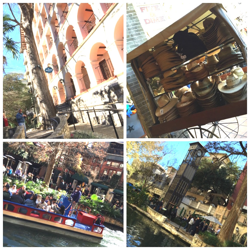 River Walk Collage 2