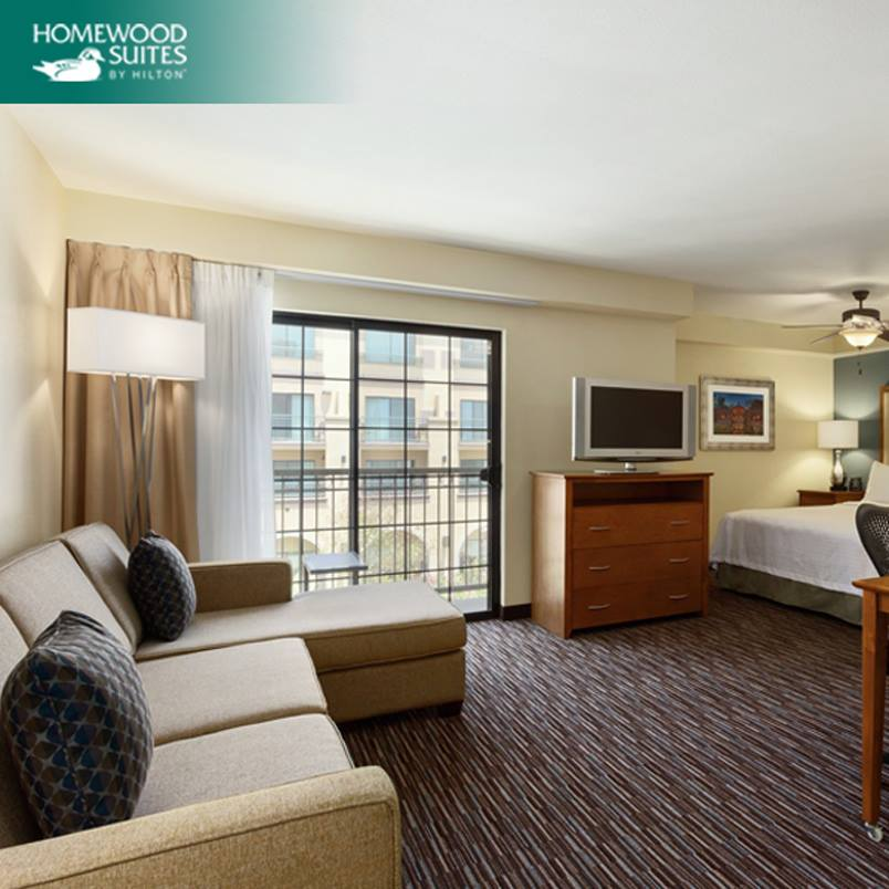 Homewood Suites Room