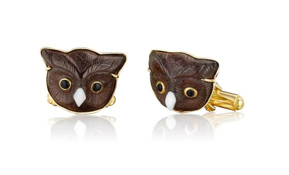 MimiSo Cufflinks - Owls