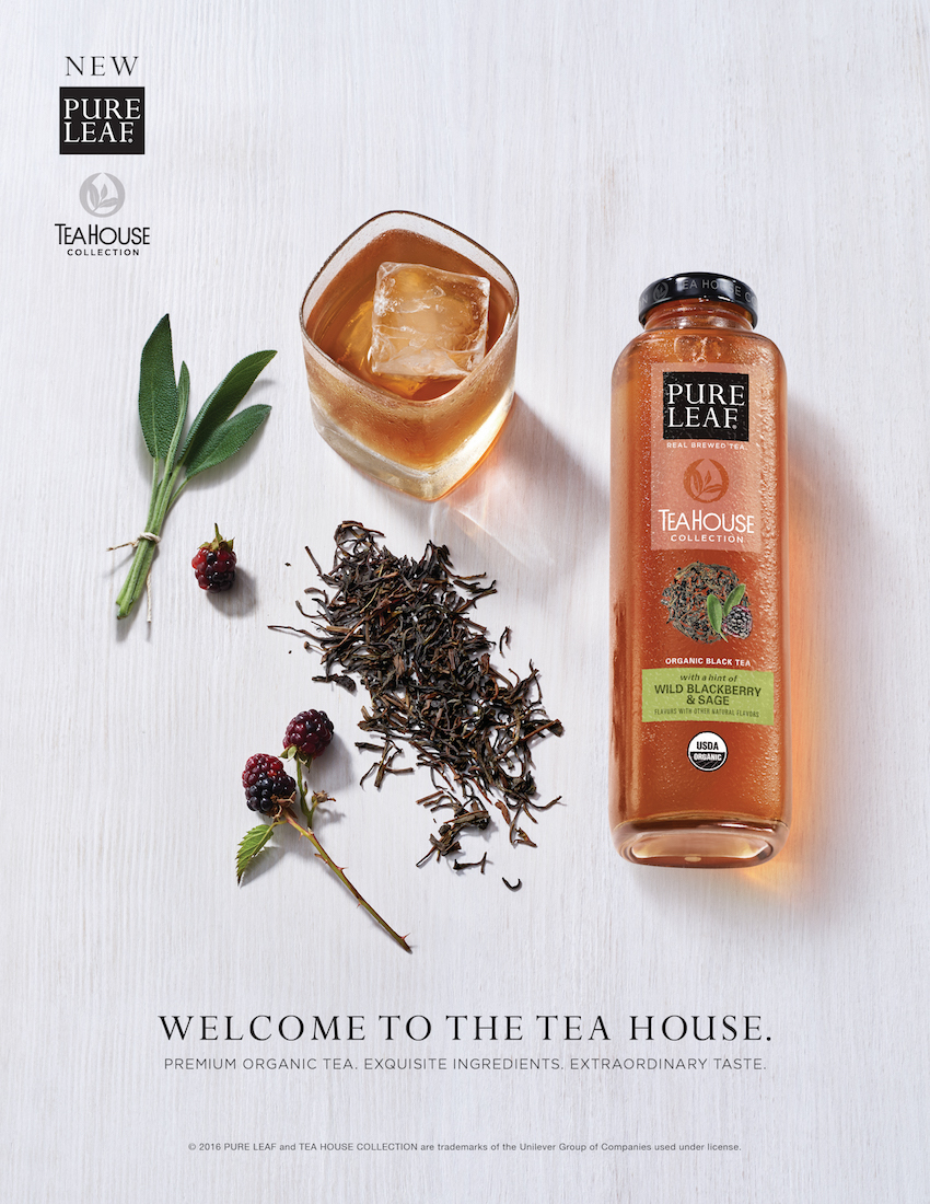 Pure Leaf Tea House Collection Wild Blackberry & Sage