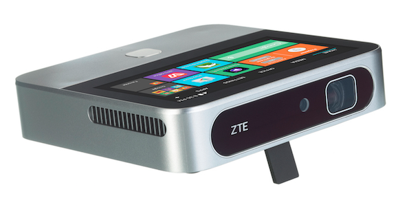 The ZTE SPRO2 Wireless Smart DLP Projector Really Ramps Up Your Home Theater Experience