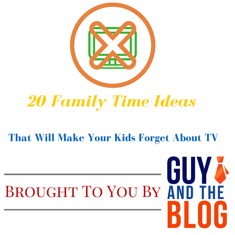 20 Family Time Ideas Graphic