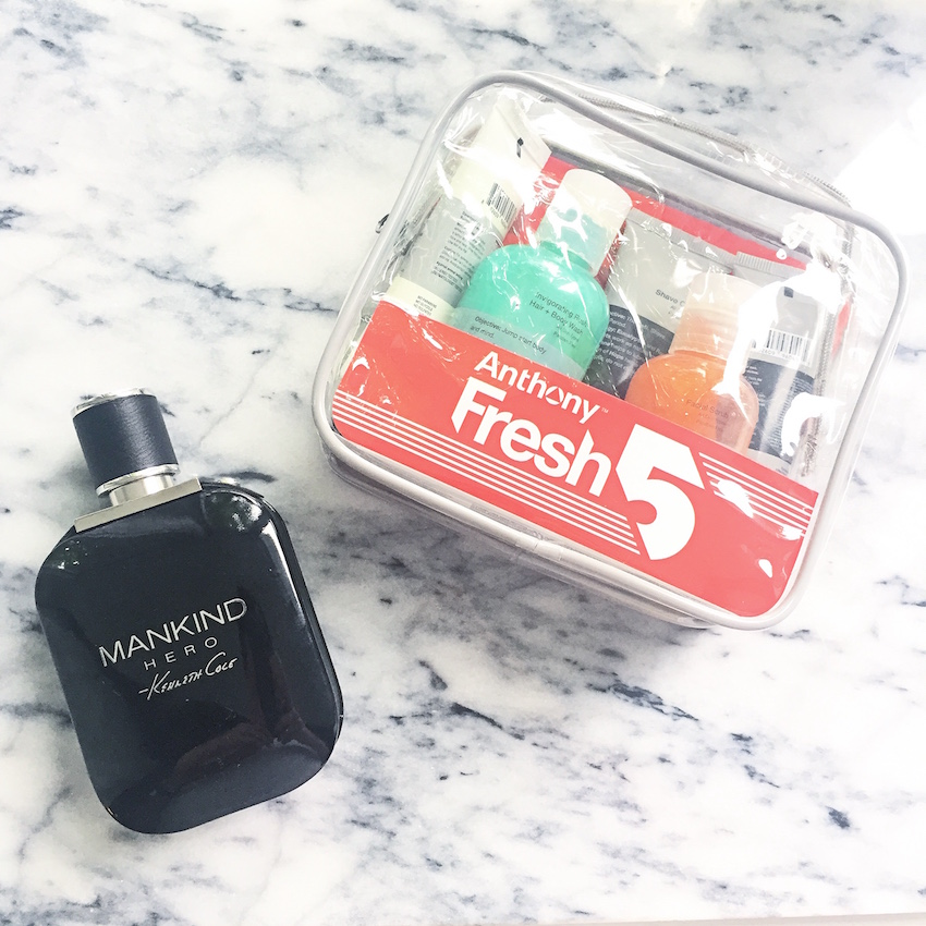 Kenneth Cole Mankind and Anthony Fresh Five Kit
