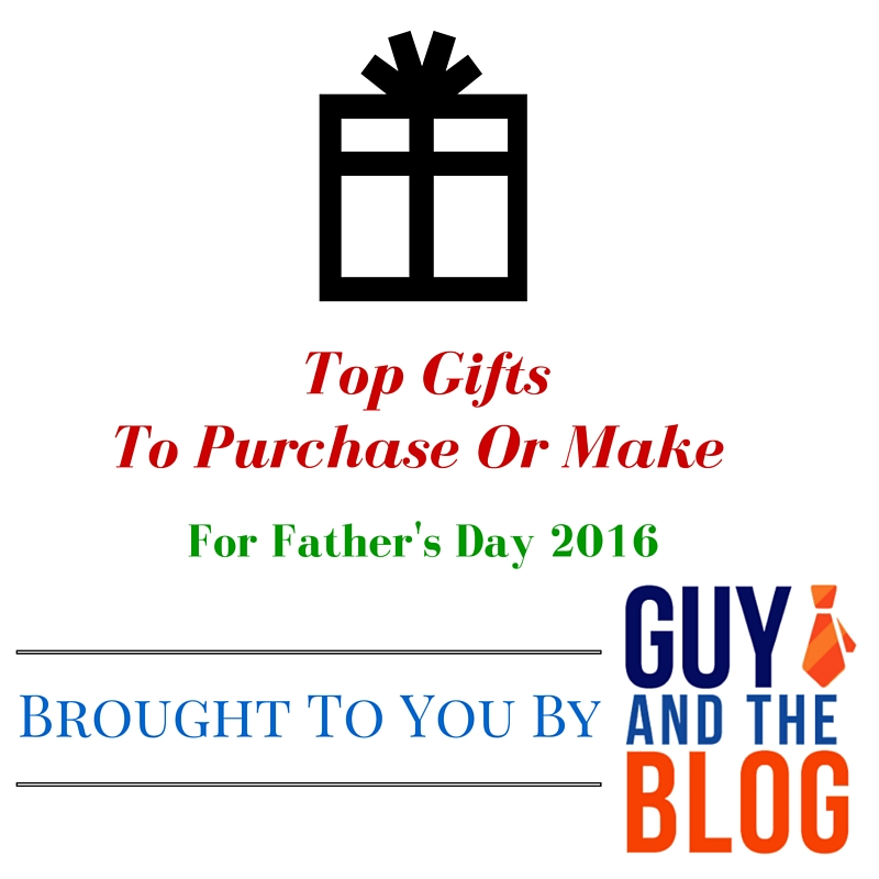Top Father's Day Gifts 2016 Graphic