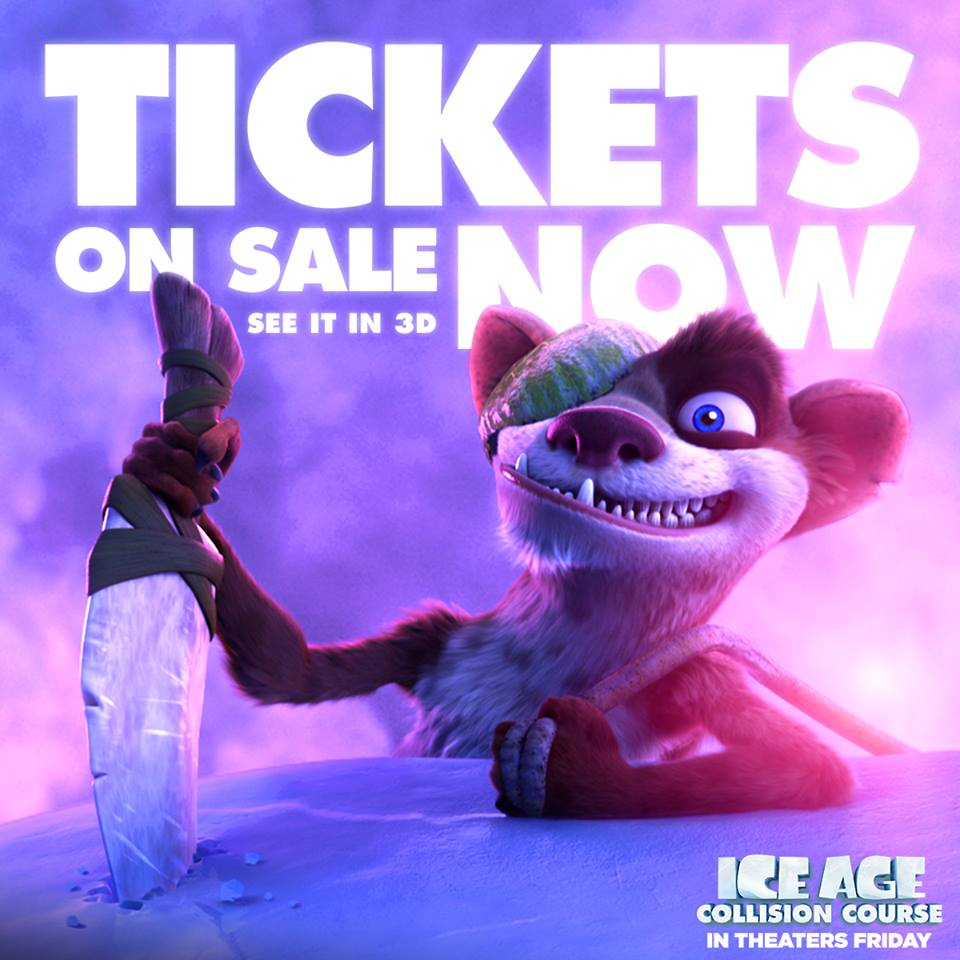 Ice Age Tickets