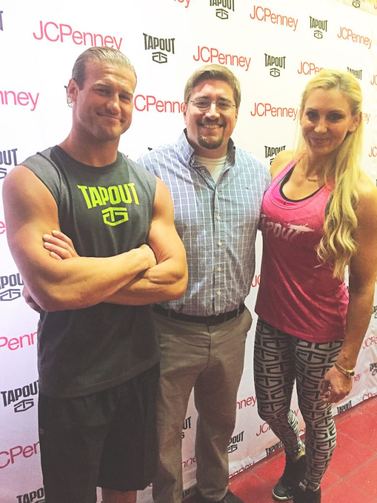 JCP WWE Tapout Line Bill and Dolph and Charlotte