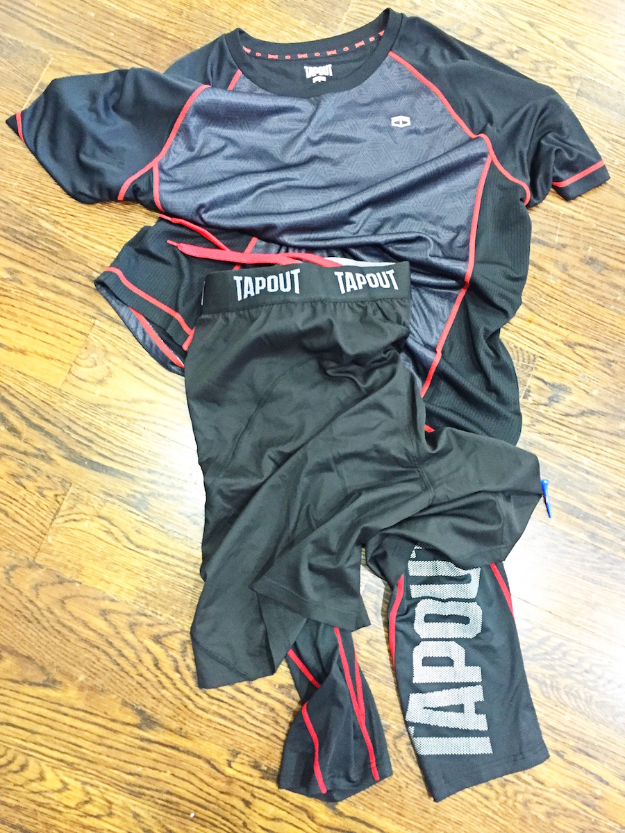 JCP WWE Tapout Outfit