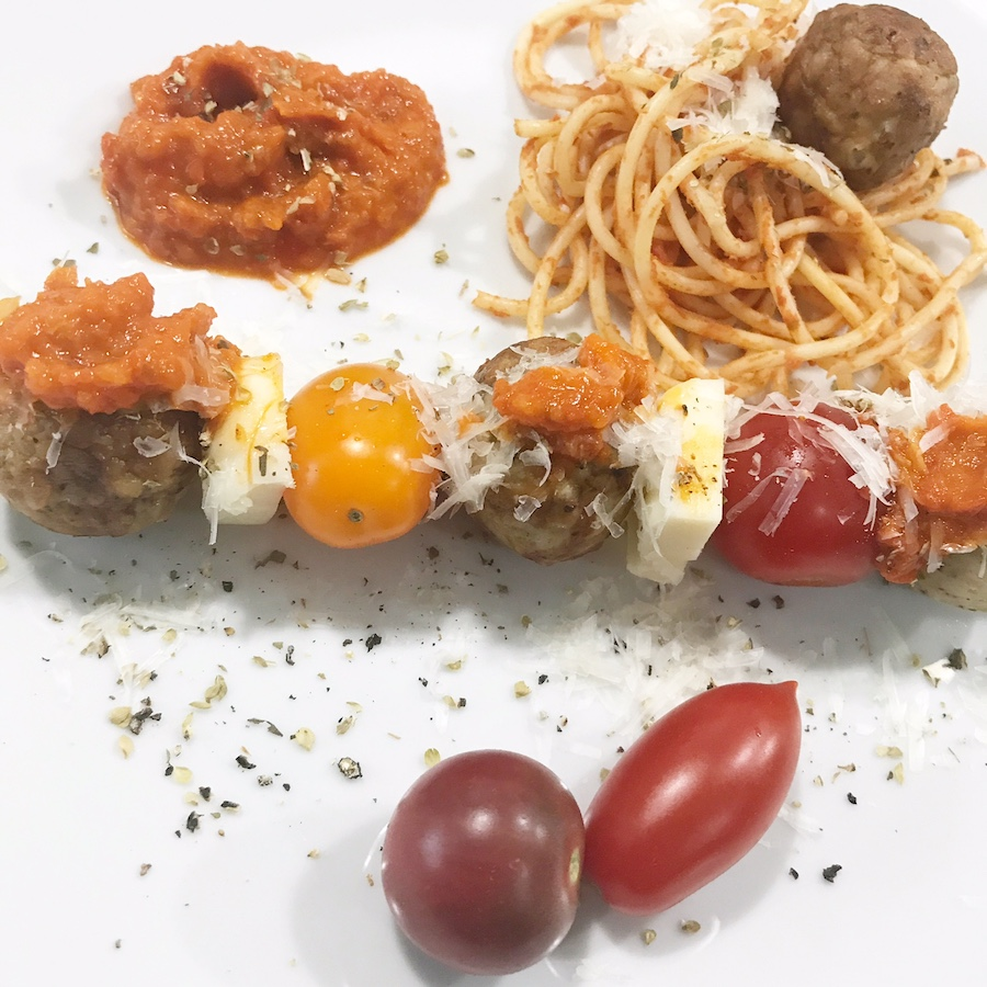 Cooked Perfect Italian Style Chicken Meatball with Parmesan ...
