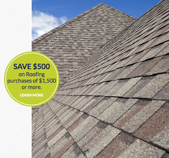 ROOFING U2013 Save $500 On Roofing Purchases Of $1,500 Or More. Offer Valid  Through 10/31/2017 ...